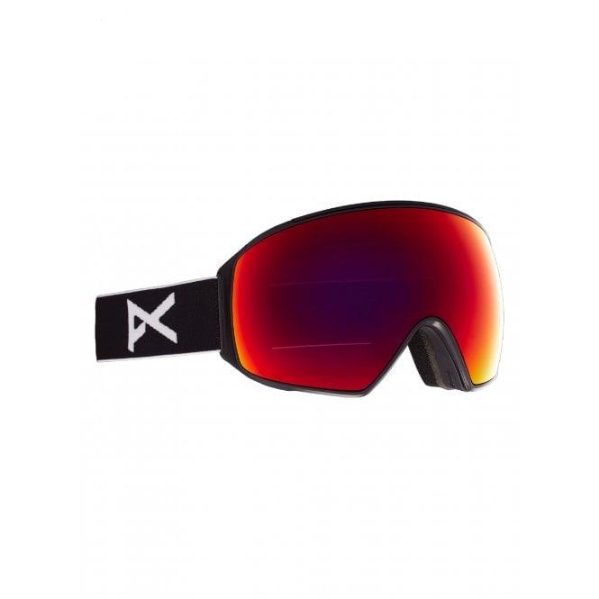 Anon  M4 Toric Goggle (BLACK/PRCV SUN RED)