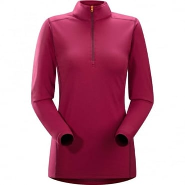 Phase AR Zip Neck LS Women's