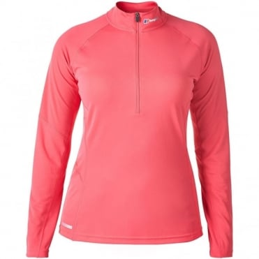 Women's Tech Tee Zip Neck