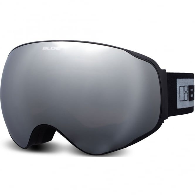 Bloc Evolution Goggles - Matt Black/Silver Mirror