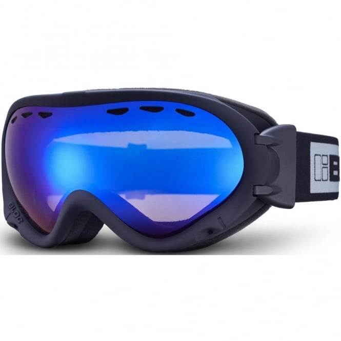 Bloc Spirit 3 OTG Goggles - Brown Revo Blue Mirror