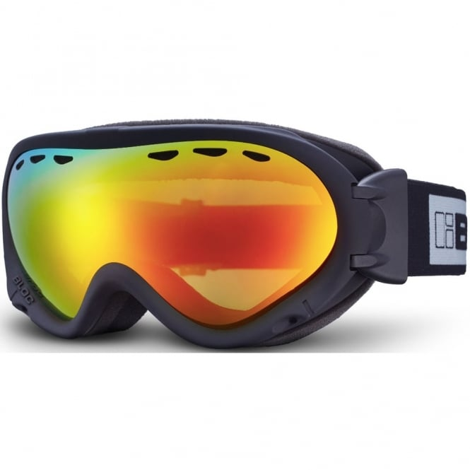 Bloc Spirit 3 OTG Goggles - Brown Revo Red Mirror