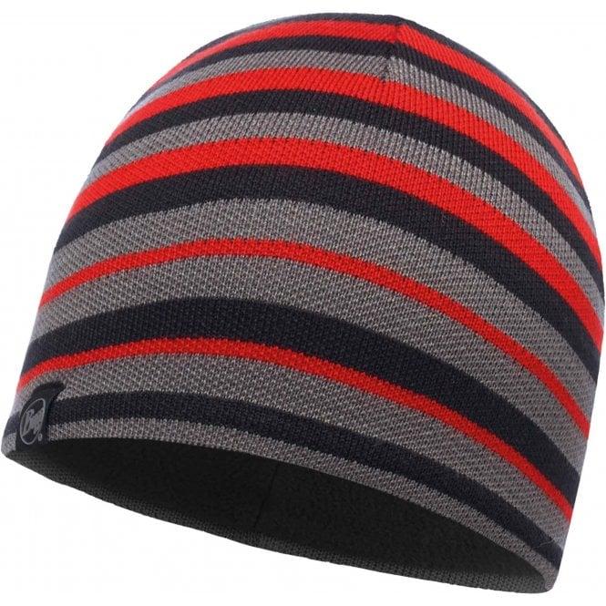 Buff Laki Stripes Knitted Hat