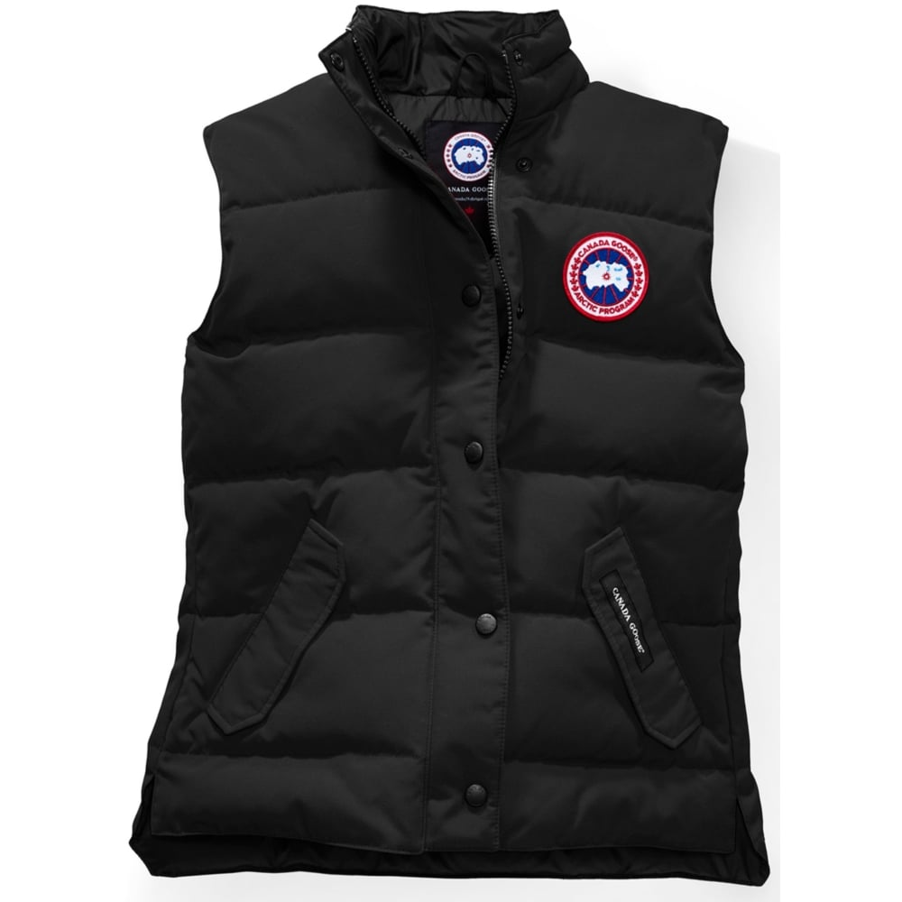 canada goose women s freestyle vest ski from ld mountain centre uk rh ldmountaincentre com