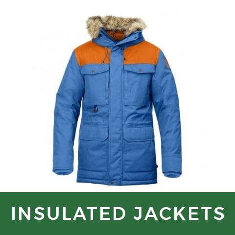 Insulated Outer Jackets | LD Mountain Centre