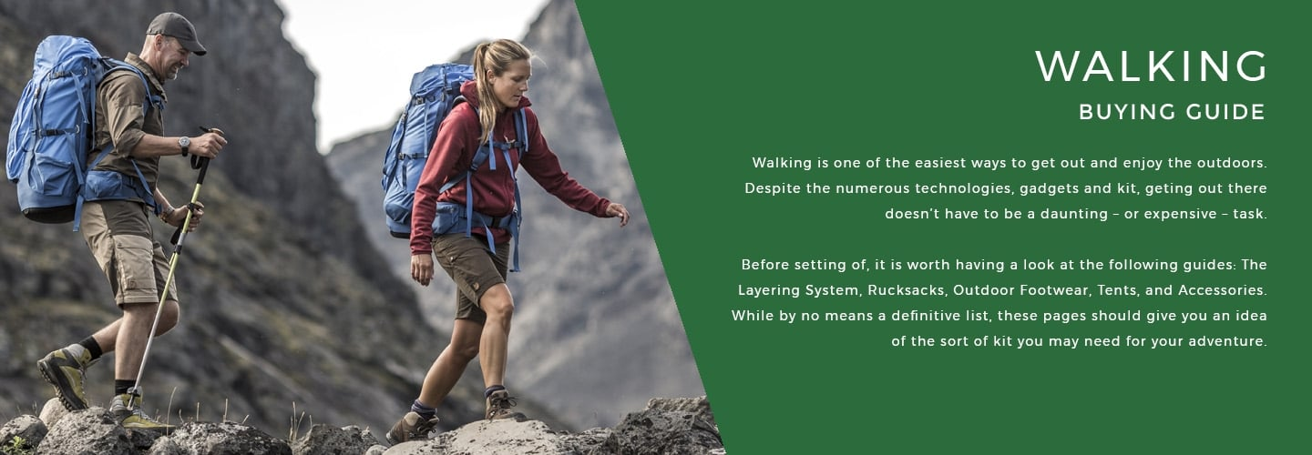 Buying Guide - Walking | LD Mountain Centre