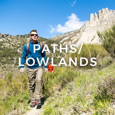 Outdoor Footwear - Paths and Lowlands | LD Mountain Centre