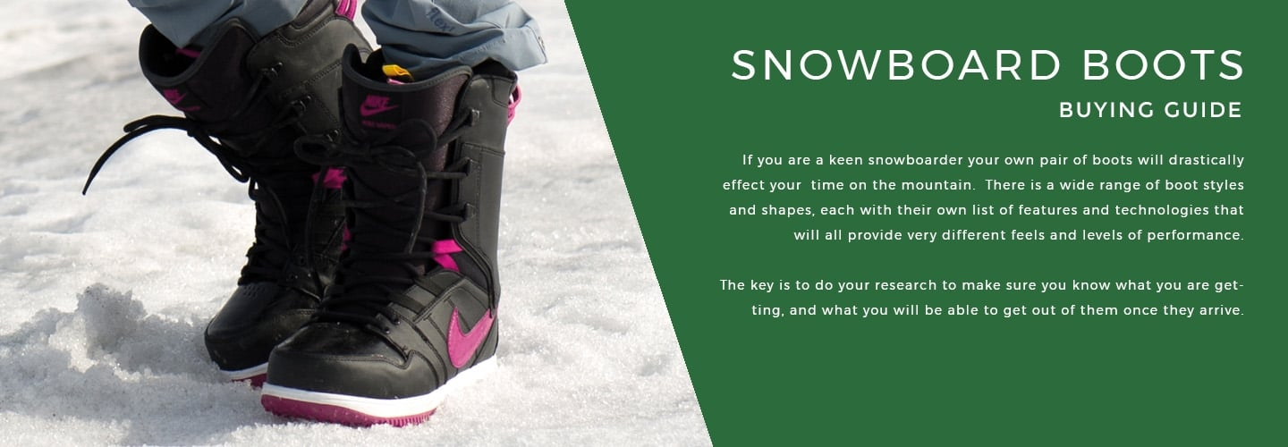 Buying Guide - Snowboard Boots | LD Mountain Centre