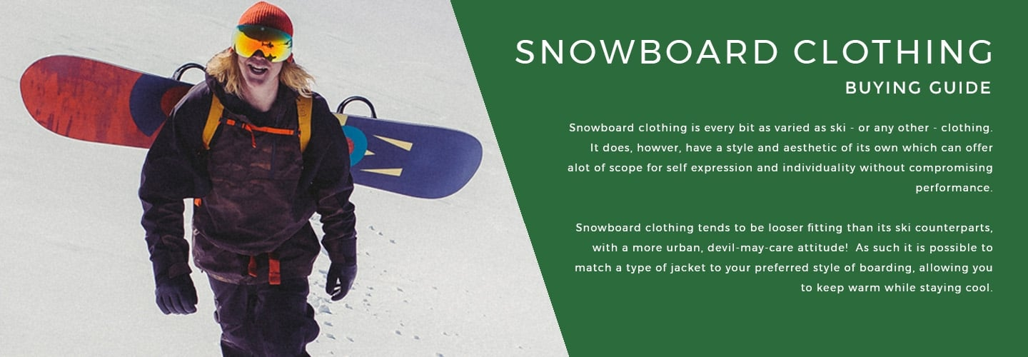 Snowboard Clothing | LD Mountain Centre
