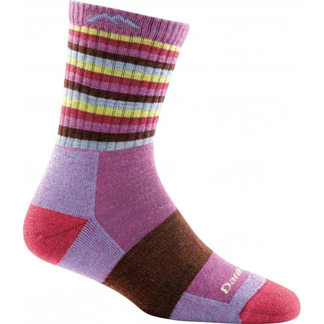 Darn Tough Women's Stripes Micro Crew Midweight Sock