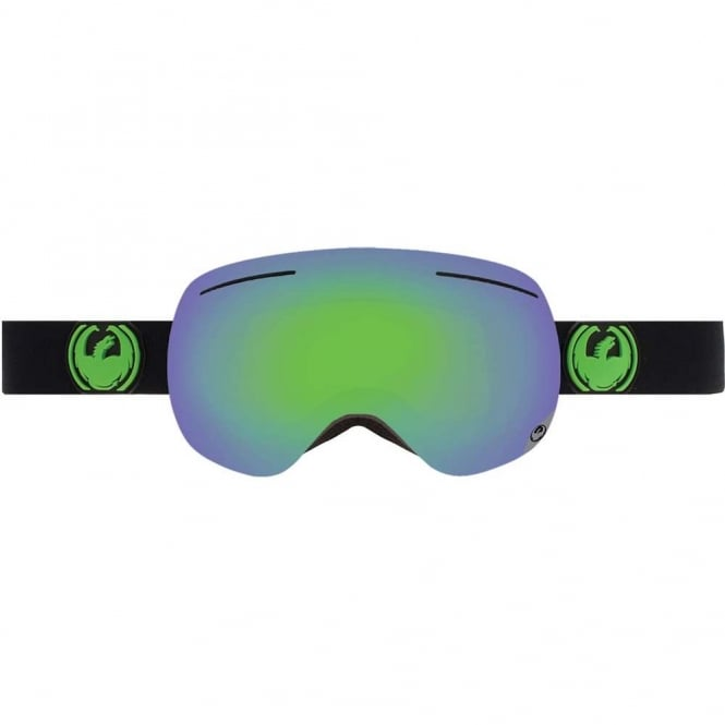 Dragon X1 Goggle Jet + Spare Lens