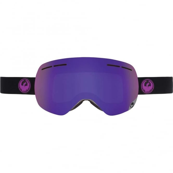 Dragon X1S Goggle Jet + Spare Lens