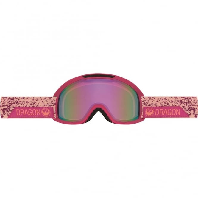 Dragon DX2 Stone Pink - Pink Ionized + Spare Lens