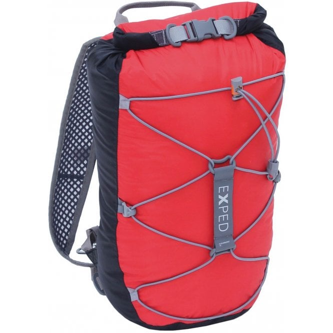 Exped Cloudburst 25 Black/Red