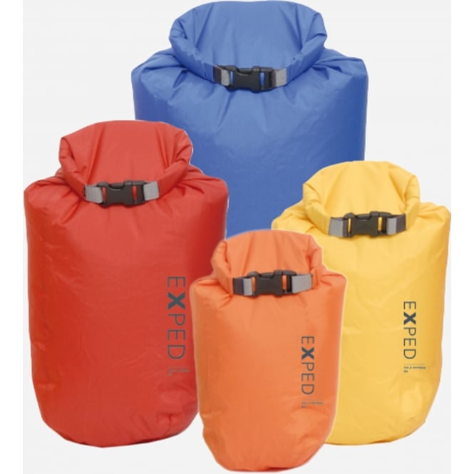 Exped Fold-Drybag Bright (4 PACK)