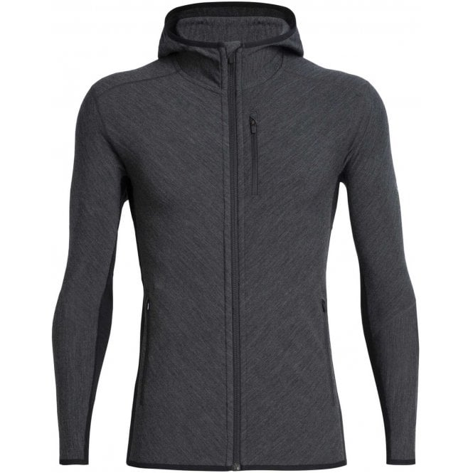 Icebreaker Descender LS Zip Hooded