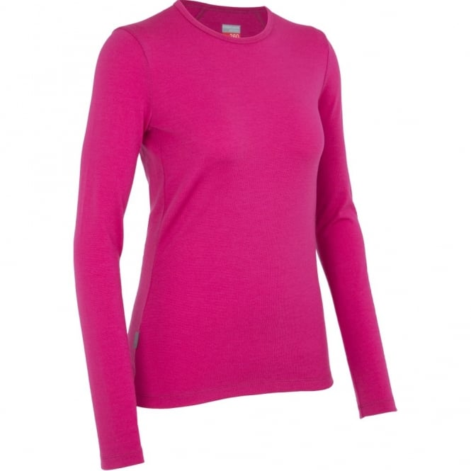 Icebreaker Tech Top LS Crewe Women's