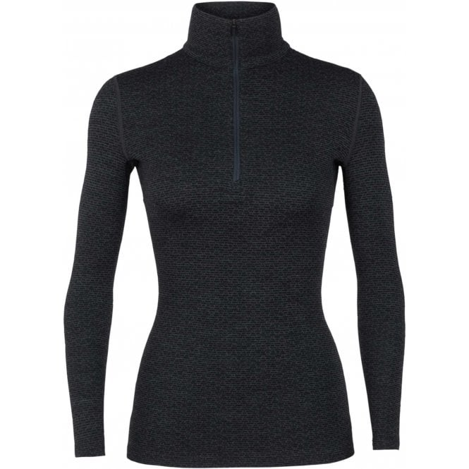 Icebreaker Wmns Vertex LS Half Zip Mountain Dash