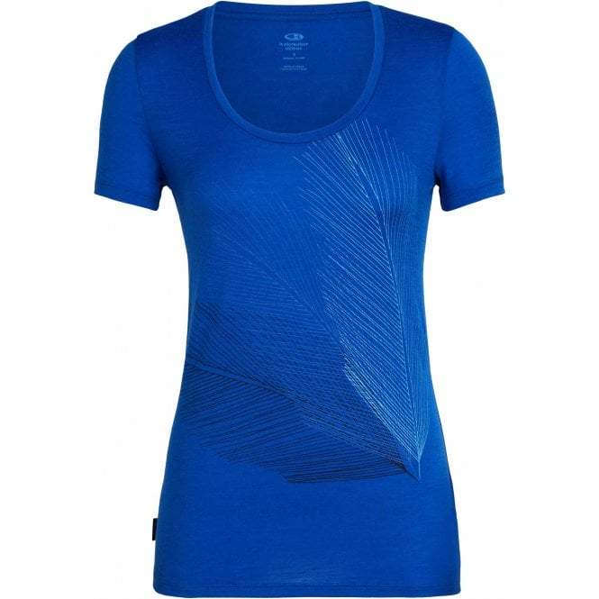 Icebreaker Women's Tech Lite Scoop Plume