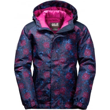 Girl's Kajak Falls Printed Jacket