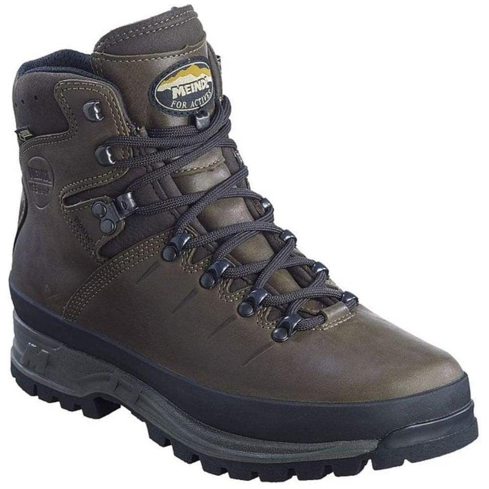 Meindl Men's Bhutan GORe-TeX Walking Boots | 8.5 UK | Dark Brown