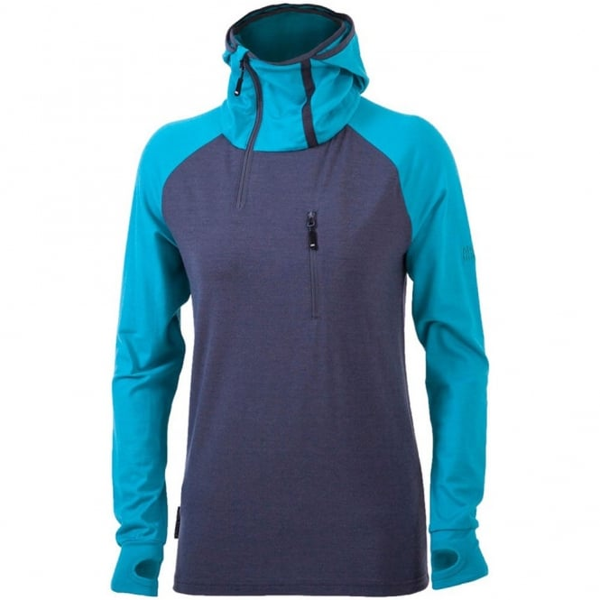 Mons Royale Women's 1/4 Zip Tech Hoody