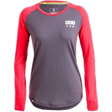 Women's Rocker Raglan LS