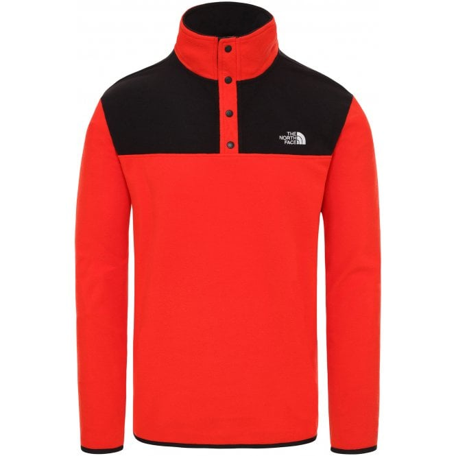 North Face TKA Glacier Snap Neck Pullover