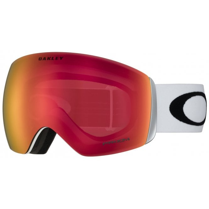 Oakley Flight Deck - Matt White/Prizm Torch Iridium OO7050-35