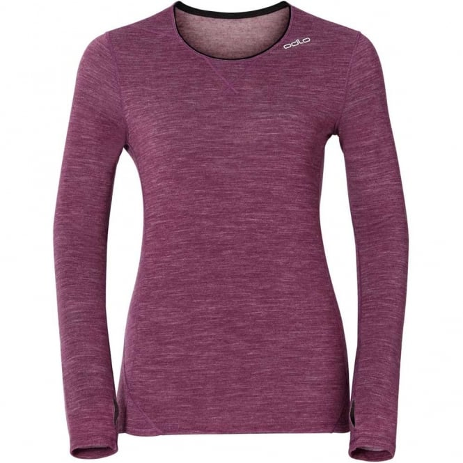 Odlo Women's Revolution LS Crew Neck Warm