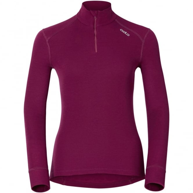 Odlo Women's Turtle Neck Zip-Warm