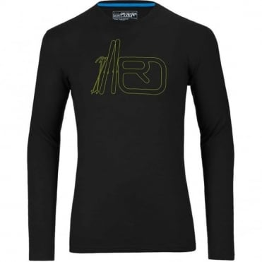 Merino 185 Long Sleeve Print