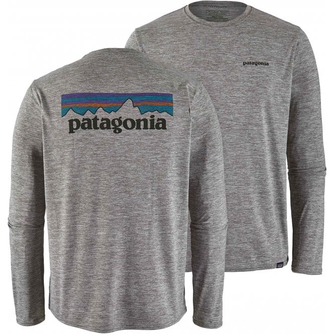 Patagonia Long Sleeve Cap-Cool Daily Graphic Shirt