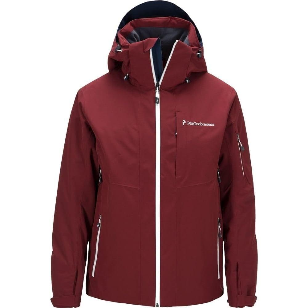 peak performance maroon 2 jacket ski from ld mountain. Black Bedroom Furniture Sets. Home Design Ideas