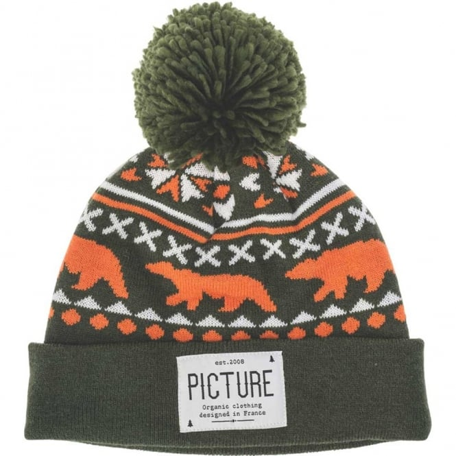 Picture Racoon Beanie