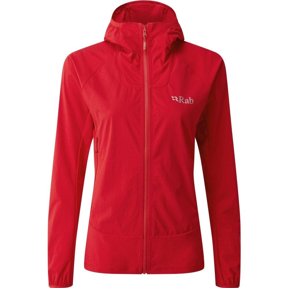 Women's Borealis Jacket - Ruby