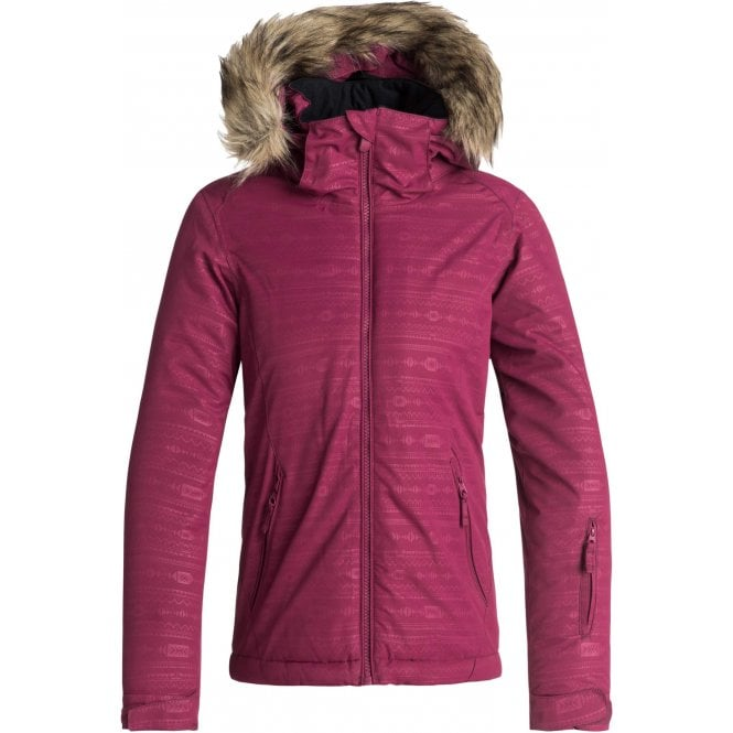 Roxy Girls Jet Ski Embossed Jacket