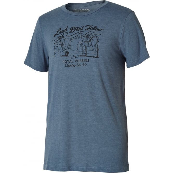 Royal Robbins Lead Don't Follow Tee
