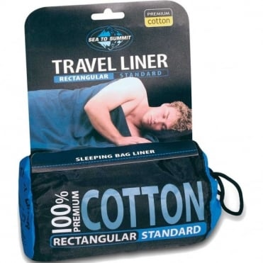 Cotton Travel Liner - Mummy Fit