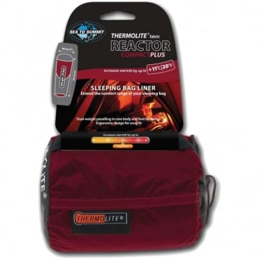 Reactor Plus Compact Sleeping Bag Liner