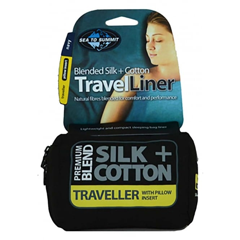 Sea to Summit Silk/Cotton Traveller Liner Mummy