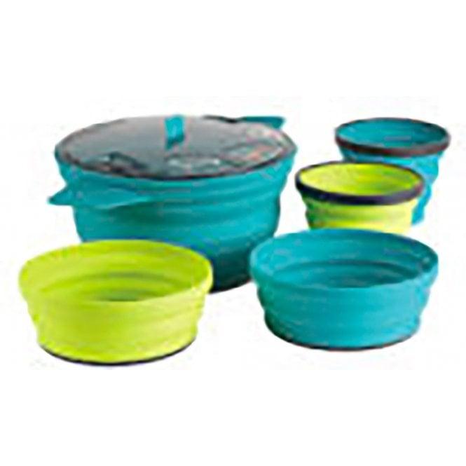 Sea to Summit X-Set:31 5pc Pot+2 Bowl +2 Mug