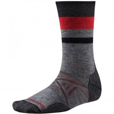 PhD® Outdoor Medium Pattern Crew Sock