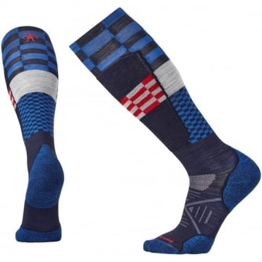 PhD® Ski Light Elite Pattern Sock