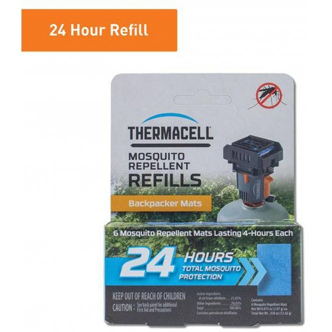 Thermacell Standard Refill 6 pack (Mats only)