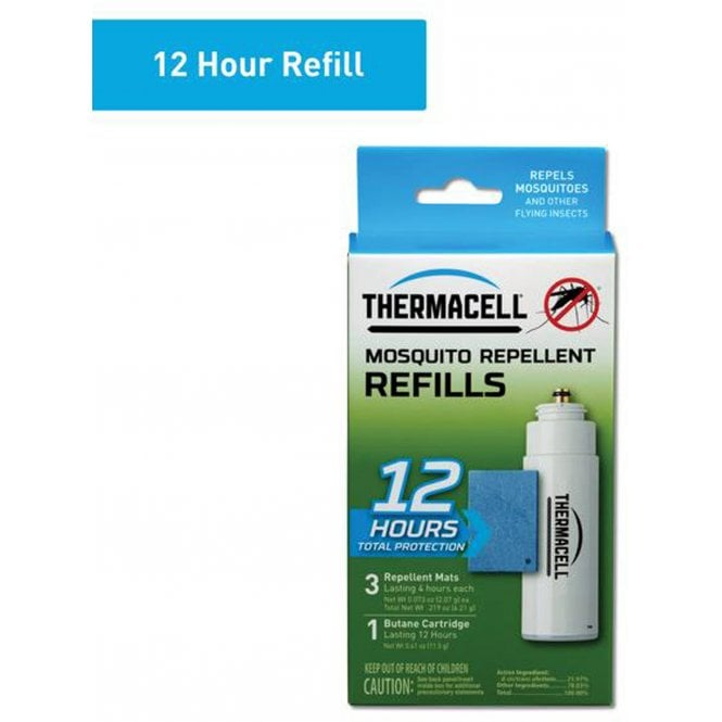 Thermacell Standard Refill (Mats & Gas)