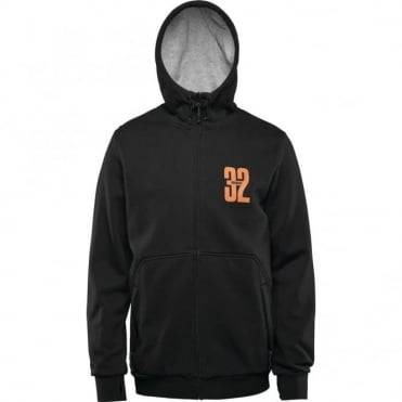 Stamped Zip Fleece
