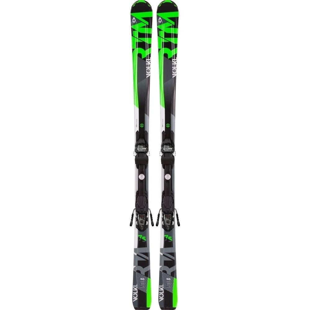 Volkl RTM 75 173cm Skis + 4 Motion Bindings