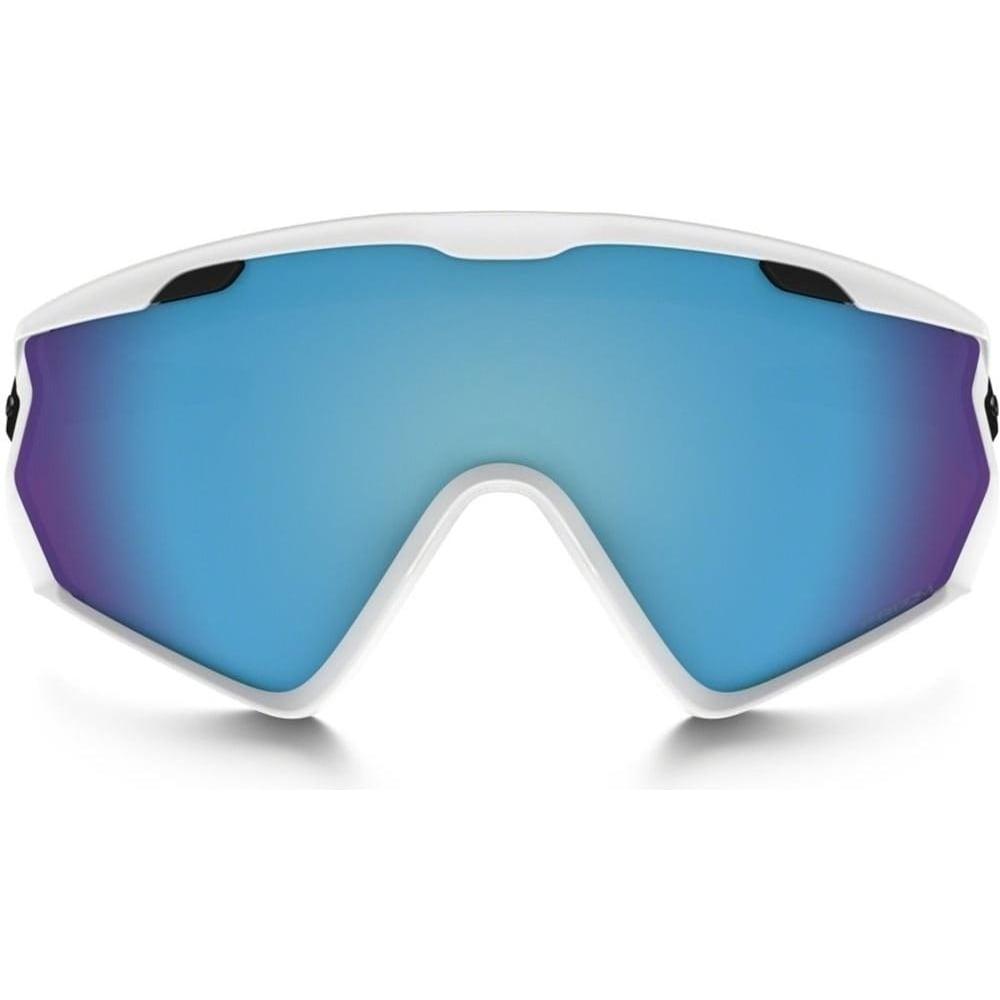 159208ab2b7 Oakley Wind Jacket 2.0 Matt White Prizm Sapphire Iridium OO7072-03 ...